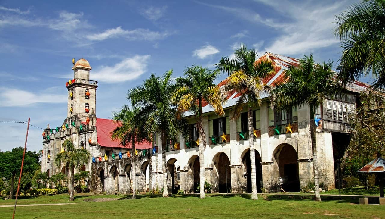 Finding the best places to visit in the Philippines - A Catholic Church in the Philippines